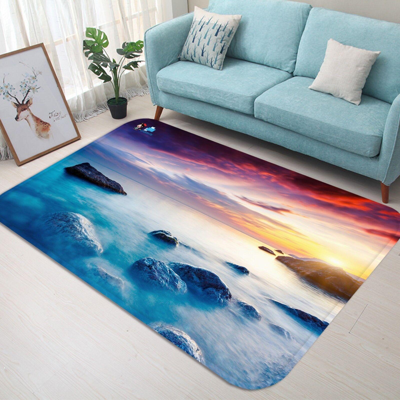 3D Sky Surf Surf Surf Stones 588 Non Slip Rug Mat Room Mat Quality Elegant Photo Carpet US 29c808