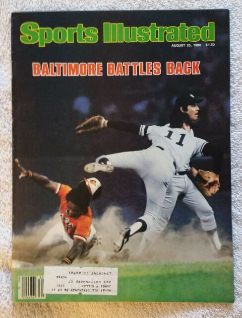 Sports Illustrated August 25, 1980; Baltimore Battles Back - RARE FIND!!