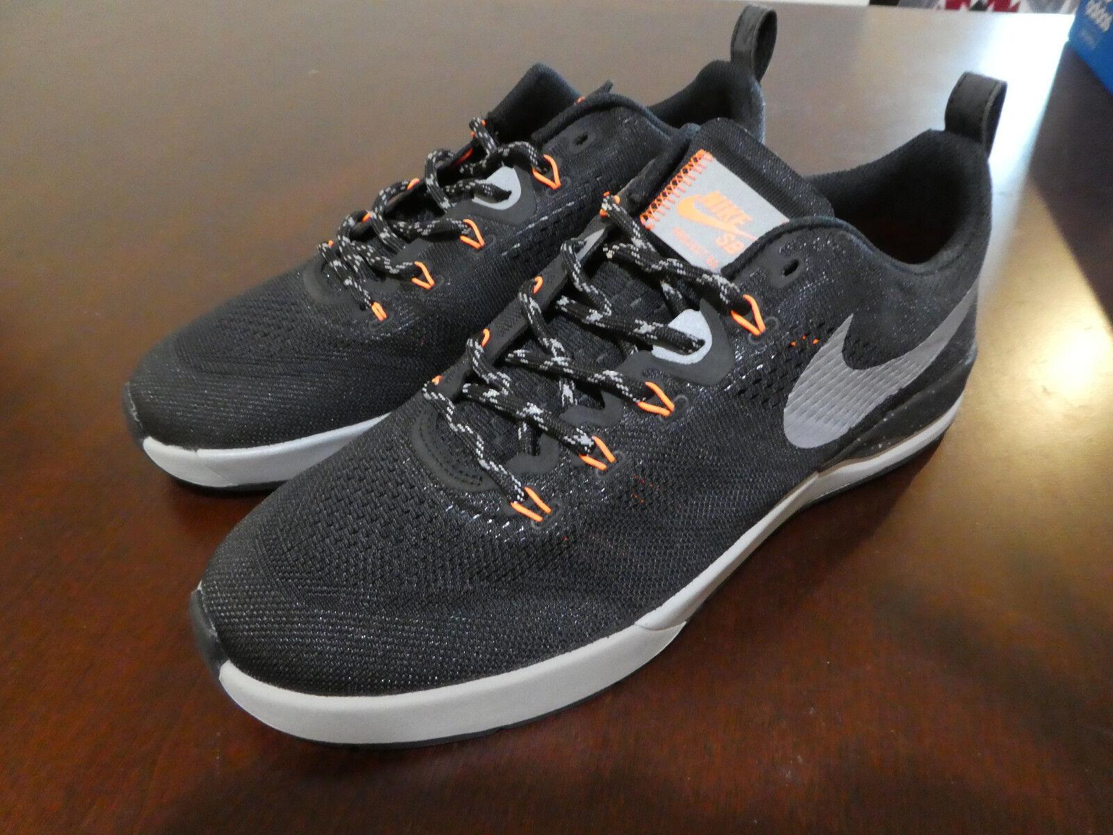 Nike SB Skate Project BA R/R Shield shoes new lunarlon black sneakers skateboard