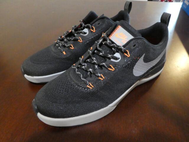 32bcc169f4f2 Nike SB Skate Project BA R R Shield shoes new lunarlon black sneakers  skateboard