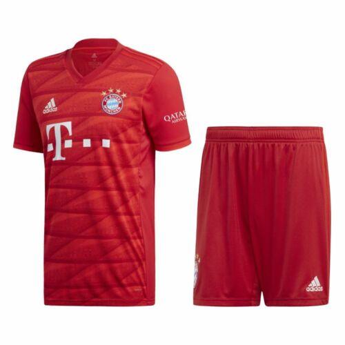 ADIDAS FCB FC Bayern München Home Kit heimset 2019 2020 bambini ...