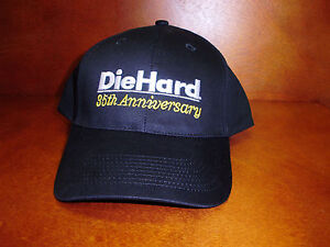 best service 21354 49667 Image is loading Die-Hard-35th-Anniversary-Solid-Black-100-Cotton-