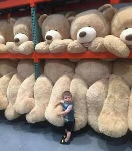cb4d17bbd90 Giant Big Larger USA Teddy Bear Plush Animals Soft Toys Doll Xmas ...