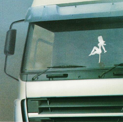 * aufsteck-decoración con ventosa Girl mercancía emblema camiones personaje para coche *