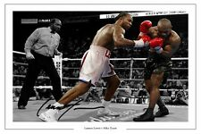 LENNOX LEWIS HEAVY WEIGHT BOXING CHAMP SIGNED  PHOTO PRINT