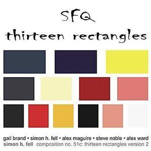 Thirteen Rectangles by SFQ (CD, Dec-2006, Brucesfingers)
