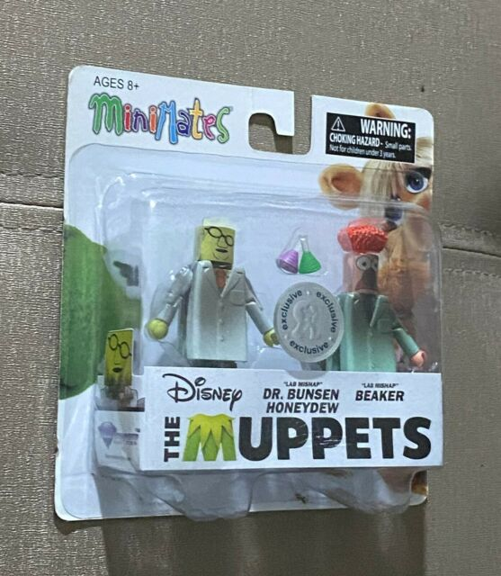 The Muppets Minimates TRU Toys R Us Wave 1 Lab Mishap Dr Bunsen Honeydew
