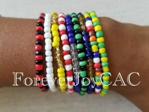 Ilde-Orula-Shango-Yemaya-Ogun-Oshun-Osain-Obatala-Ifa-Santeria-bracelet-Ide-Idde