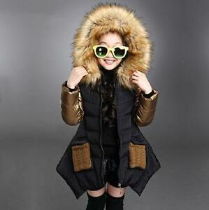 5251b6787e57 2018 parkas girl clothing kids winter outerwear coats princess girls ...