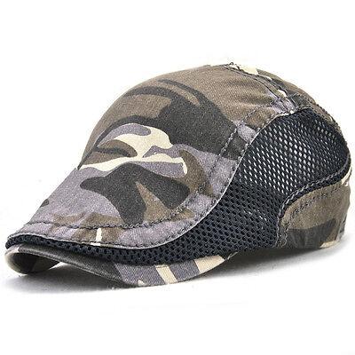 Unisex Duckbill Ivy Cap Golf Driving Flat Cabbie Newsboy Sport Hiking Beret Hat