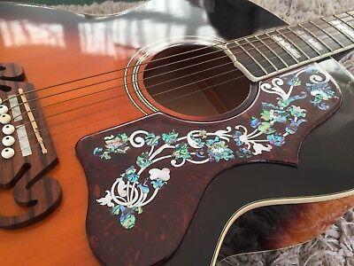 Acoustic  Black guitar pickguard epiphone j200 sj200 KAY Suzuki Alverez Columbus