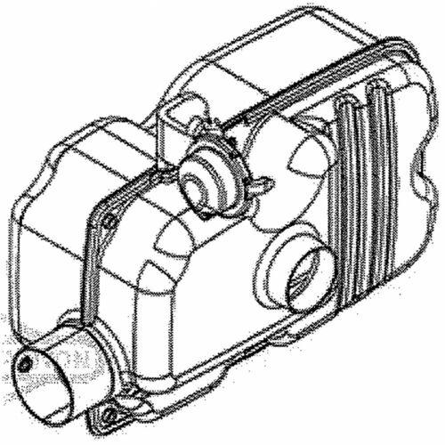 Briggs /& Stratton 597288 Muffler Genuine OEM part