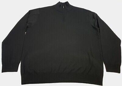 Goodthreads Mens Merino Wool Quarter Zip Sweater