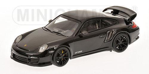 1 43 Minichamps PORSCHE 911 (997 II) GT2 RS 2010 nero Con Ruedas nero 400069404