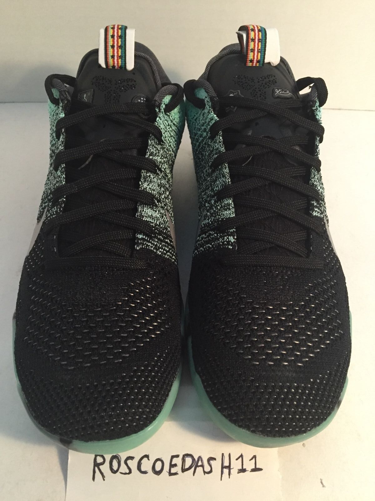 best sneakers 31622 15f61 cheap Nike Kobe 11 Elite Low All Star Green Glow Mens Shoes 822521-305 Size