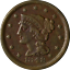 thumbnail 1 - 1848 Large Cent Great Deals From The Executive Coin Company