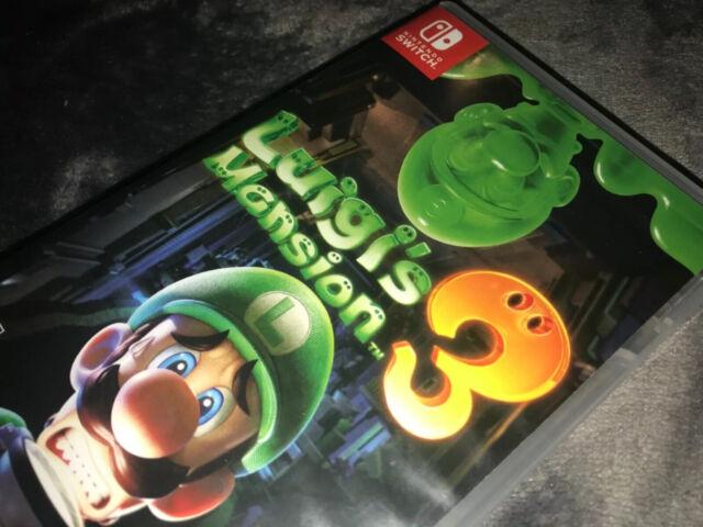 Luigi's Mansion 3 (Nintendo Switch, 2019)
