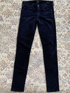 Citizens-of-humanity-Avedon-Low-Rise-Skinny-Leg-Women-s-Size-27-Velvet-Jeans