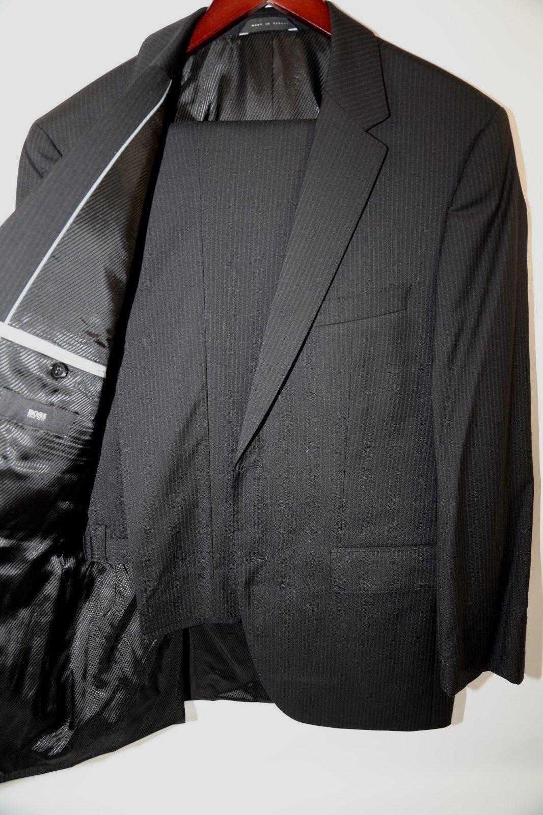 175  HUGO BOSS The James3/Sharp5  Striped Suit Größe 38 R