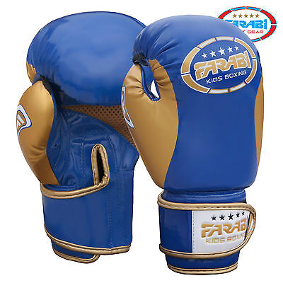 Farabi Dragon Boxing MMA Kickboxing Fitness Punching Gloves Bag Mitts Muay Thai