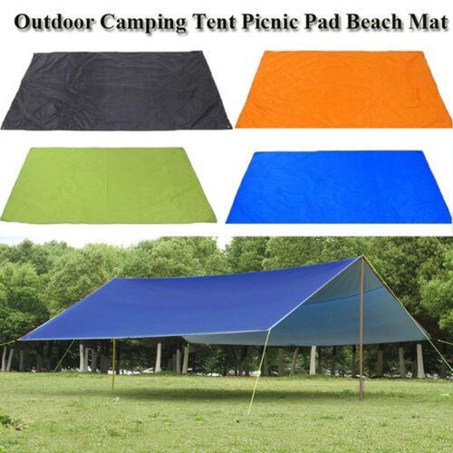 Waterproof Tent Tarp Shelter Awning Rain Sun Shade Outdoor Camping Hammock  C!