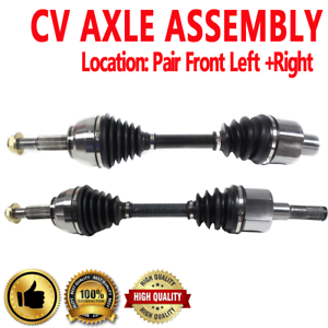 FRONT Driver /& Passenger CV Axle Shaft For MERCURY MOUNTAINEER 2002-2005 AWD