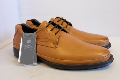s in Airflex 42 stringate M Scarpe pelle Eur Total Plain marrone Uk chiaro Comfort 8 di 5 fAUnqwPHn