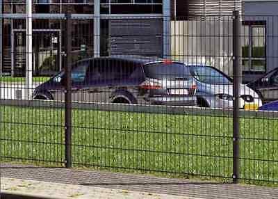 Doppelstabmatten- Zaun Mattenzaun 20 meter Komplett-Set versch.Höhen,Farben