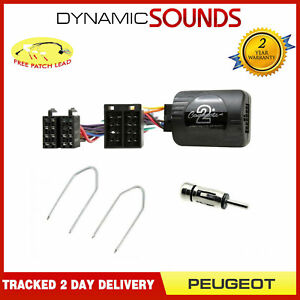 Peugeot-Partner-1996-2008-Autoradio-Direction-Antenne-Cles-Extraction-Kit