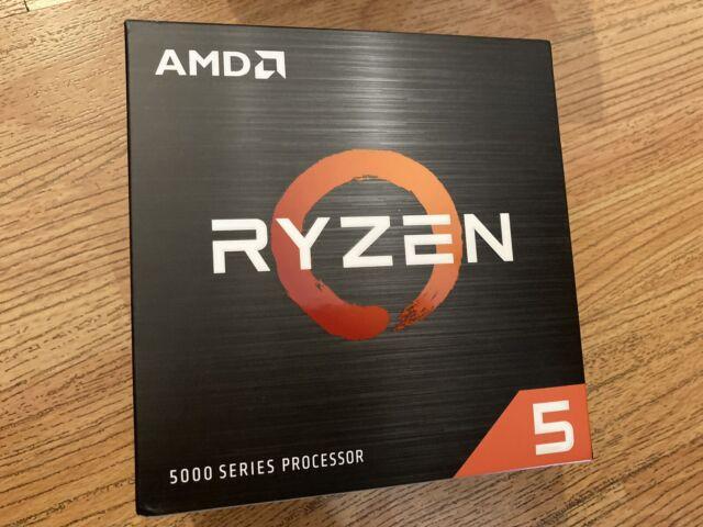 AMD Ryzen 5 5600X 6-core 12-Thread Desktop Processor with Wraith Stealth Cooler