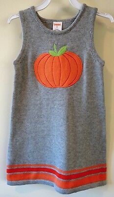 GYMBOREE FALL HOMECOMING STRIPE SWEATER JUMPER DRESS 3 6 3T 5T NWT