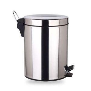 Abfalleimer-mit-Pedal-Muelleimer-Treteimer-Kosmetikeimer-3-Liter