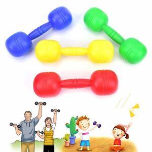 kinder hantel kndergarten outdoor kinder fitness bung spielzeug geschenk ebay. Black Bedroom Furniture Sets. Home Design Ideas