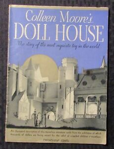 1935-Colleen-Moore-039-s-DOLL-HOUSE-Illustrated-Magazine-VG-3-5-Garden-City