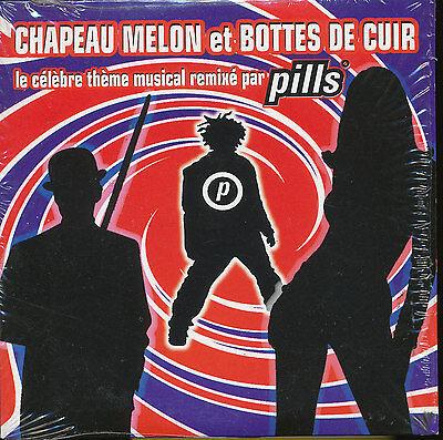 Pills : Chapeau melon et bottes de cuir remix Publicité