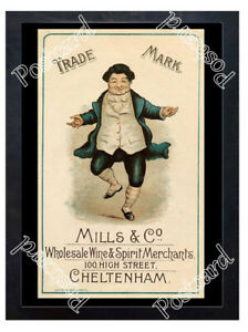 Historic-Mills-amp-Co-Wine-amp-Spirit-Merchants-Cheltenham-Advertising-Postcard