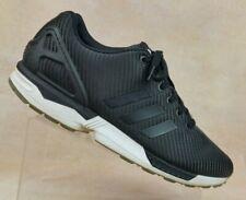 the best attitude 1c56b f5240 adidas Originals ZX Flux Winter Black Cordura Running Shoes ...