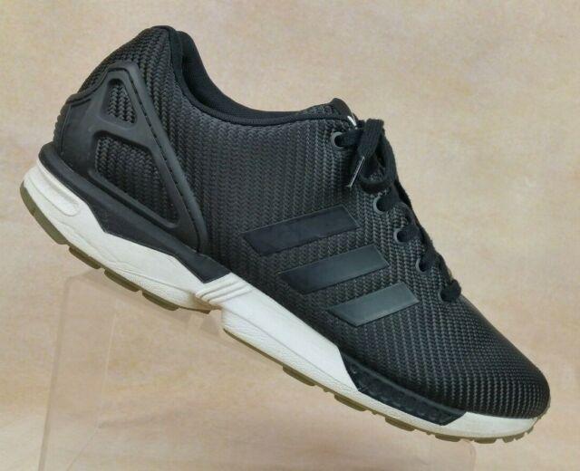 exquisite design lowest discount lowest price adidas Torsion ZX FLUX Black Running Training Shoes B34909 Men's 12