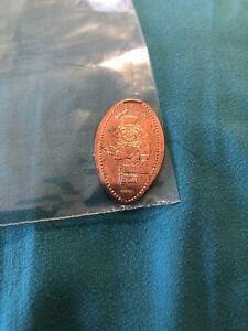 Walt Disney World Haunted Mansion pressed penny set Hitchhiking Ghosts sticker