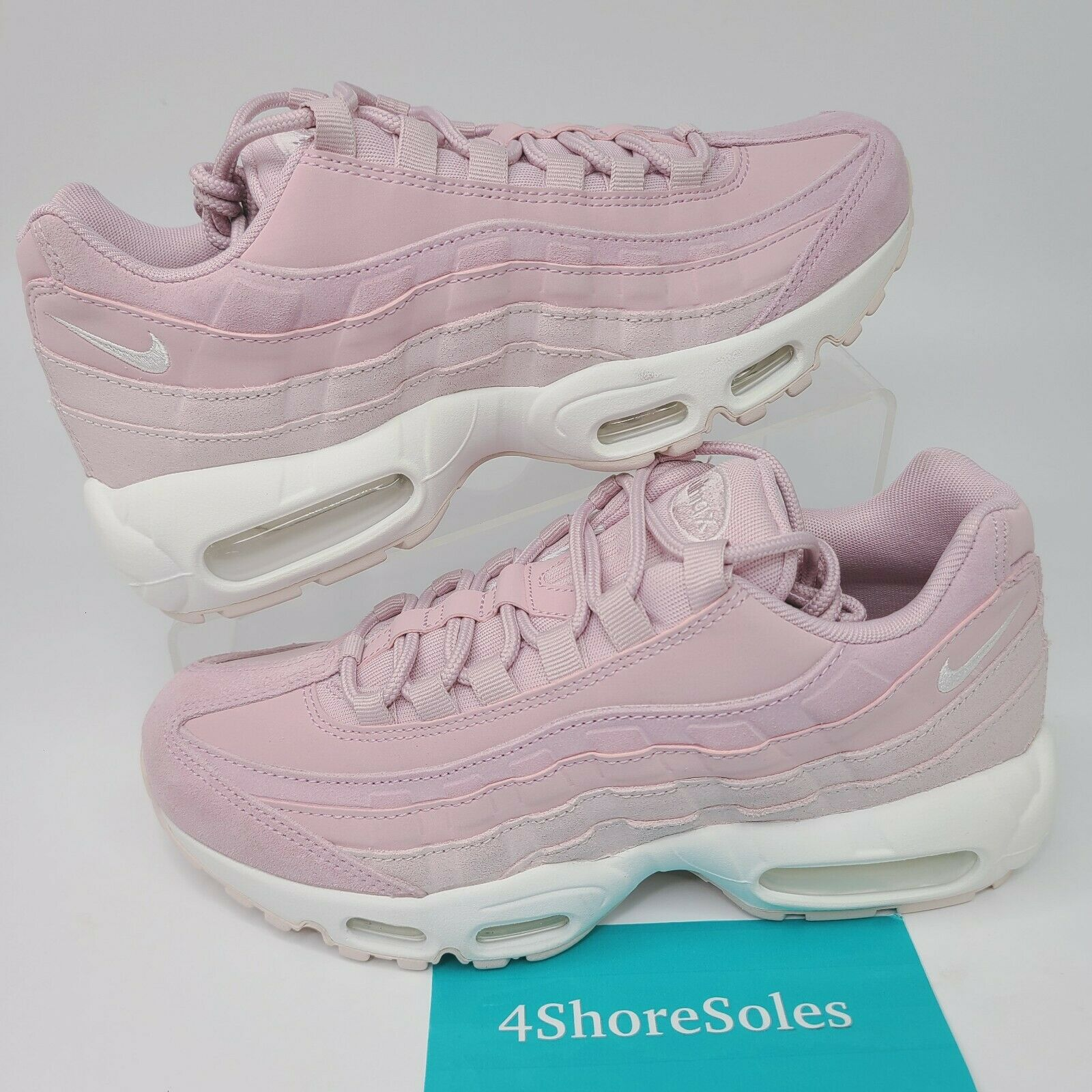 Size 8 - Nike Air Max 95 Premium Barely Rose for sale online   eBay