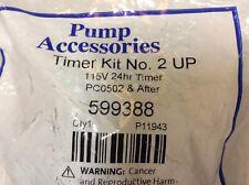 Grundfos Pump Accessories Timer Kit No 2 Up 15 Pumps 24hr Programmable 115v