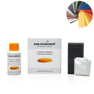 Colourlock-cuero-Fresh-para-bmw-Montana-negro-f034-30ml-con-esponja