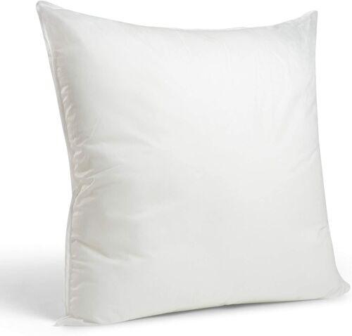 Foamily Premium Hypoallergenic European Sleep Pillow Insert Euro Sham Square For