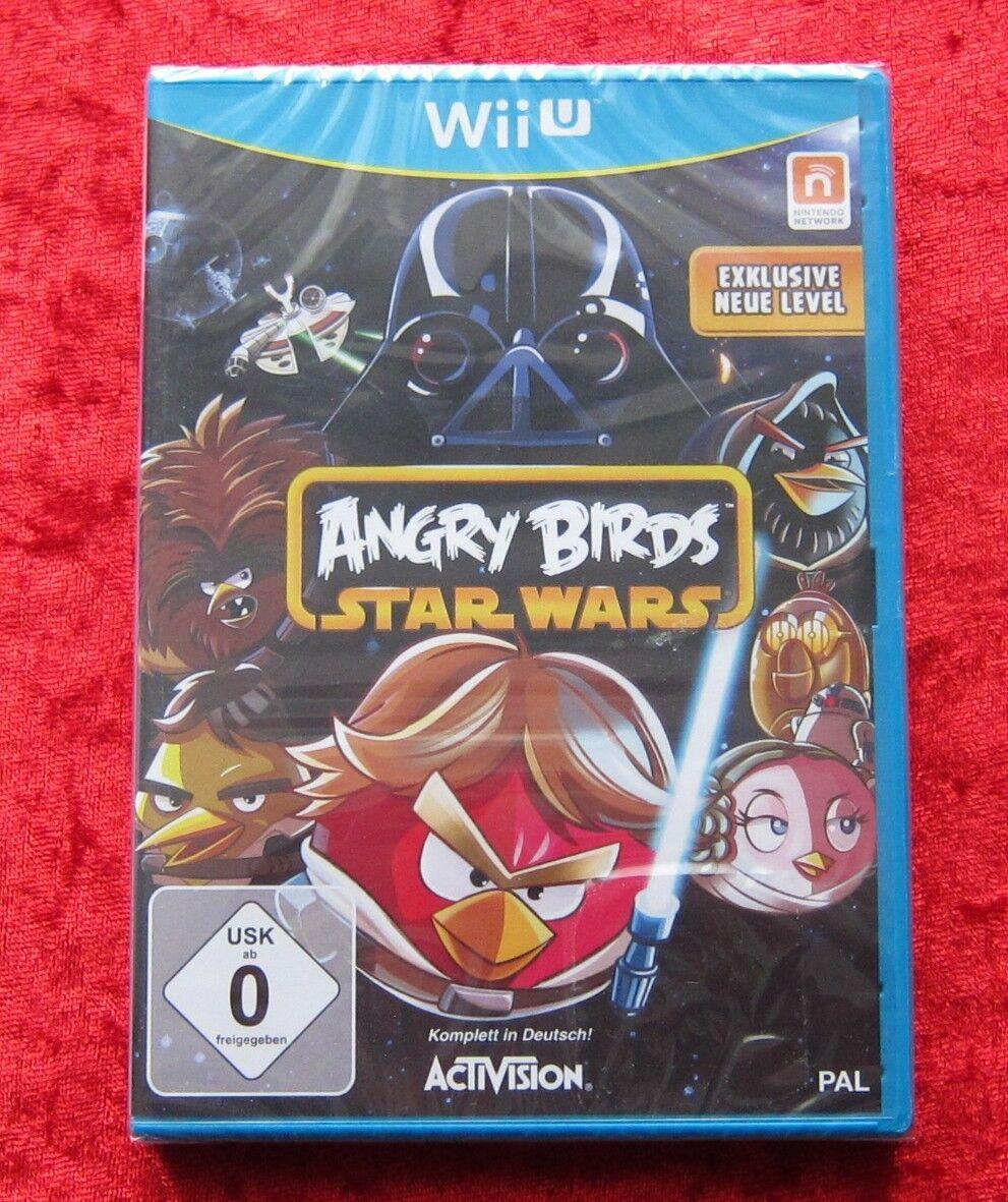 Angry Birds Star Wars, Nintendo WiiU Spiel, - Occasion StarWars