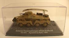 Schwerer Panzerspähagen (8rad) Sd.Kfz.232 5.le Div Agedabia (libya) - 1941