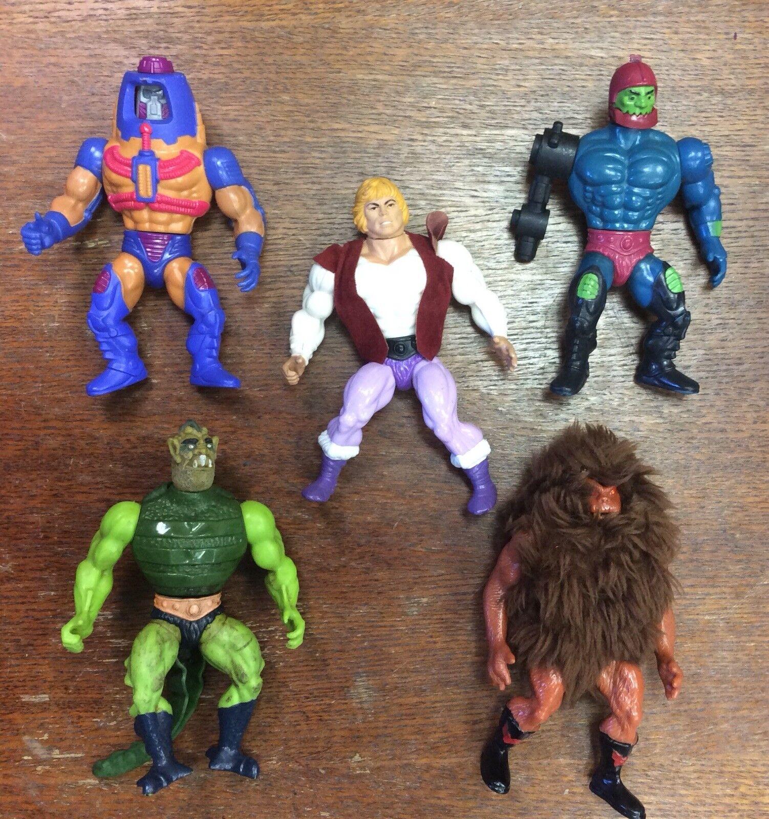 He-Man Figures + Prince Adam