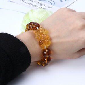 Feng-Shui-Citrine-Gem-Stone-Wealth-Pi-Xiu-Bracelet-Attract-Wealth-and-Good-Luck