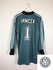Newcastle SRNICEK #1 96/97 GK Football Shirt (M) Soccer Jersey Adidas