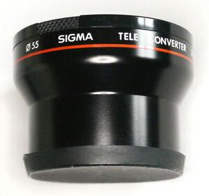 SIGMA-TELE-CONVERTOR-X-1-8-FOR-AF-VIDEO-CAMERA