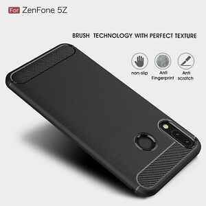 check out 743ee 5a514 Details about For Asus Zenfone 5Z ZS620KL Brushed TPU Soft Rubber Skin Case  Ultra-thin Cover